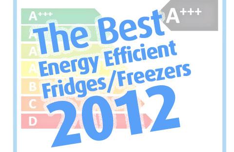 Cheapest fridges and fridge freezers to run 2012