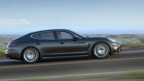 Porsche Panamera S E-Hybrid  sideview