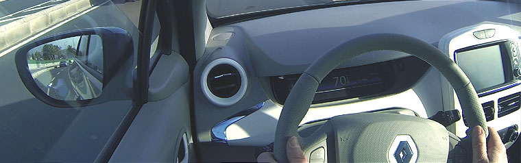 Electric Car Interior
